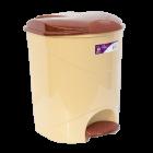 Відро для сміття з педаллю Irak Plastik Bella №1 12л бежеве