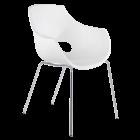 Кресло Papatya Opal белый