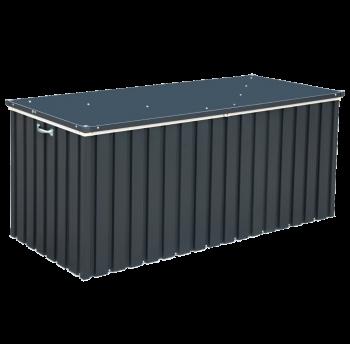 Ящик металлический внешний серый с белым 1.7