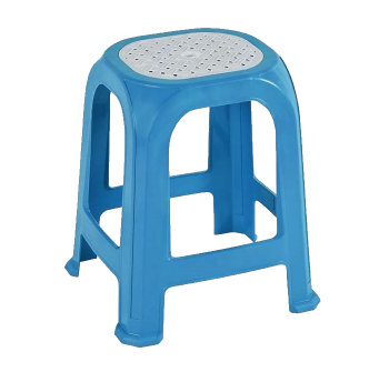 Табурет пластиковый СТ040 голубой
