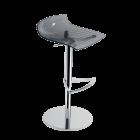 Барное кресло Papatya X-Treme B прозрачно-дымчатый