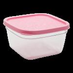 Контейнер пищевой 0,7 л розовый