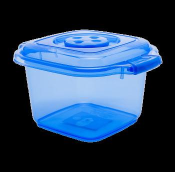 Бокс пищевой 0,5 л мини синий