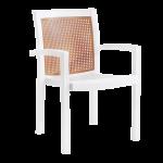 Кресло Papatya Вира белый