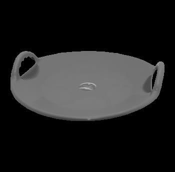 Санки-тарелка Космо серые Алеана