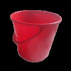 Ведро 14 л круглое красное