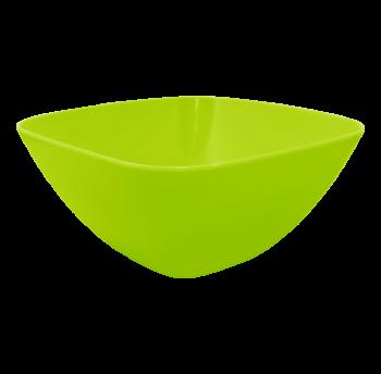Салатница пластиковая 2л оливковая