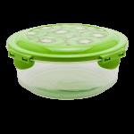 Контейнер 0,7 л прозрачно-зеленый