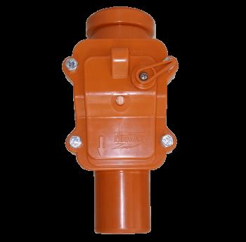 Клапан 50 мм обратный Mplast