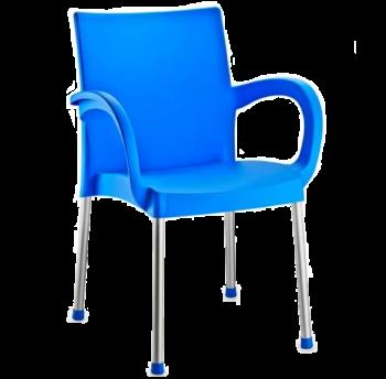 Крісло Irak Plastik Sumela алюмінієві ніжки блакитний