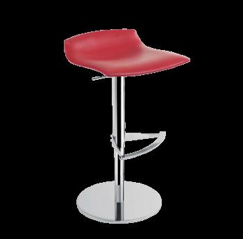 Барное кресло Papatya X-Treme B красный