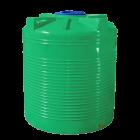 Емкость 1500 л вертикальная двухслойная зеленая