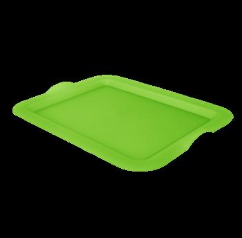 Поднос прямоугольный салатовый