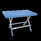 Стол складной Irak Plastik Omega 70x115 голубой