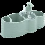 Органайзер для ванной и кухни Planet Welle серо-голубой