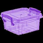 Контейнер на защелках 0,36 л фиолетовый
