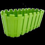 Горщик для квітів балконний Akasya 3 л зелений