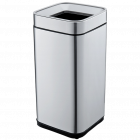 Ведро для мусора JAH 15 л серебряный металлик без крышки и внутреннего ведра