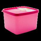 Бокс для морозильной камеры 1,2 л глубокий Alaska розовый