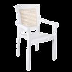 Крісло Irak Plastik Side біле