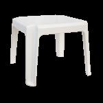 Столик для шезлонга Irak Plastik 45x45 белый