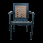 Кресло пластиковое Хризантема зеленое