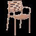 Крісло Tilia Louise XL світло-коричневий