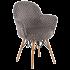 Кресло Tilia Gora-V ножки буковые, сиденье с тканью ARTCLASS 802