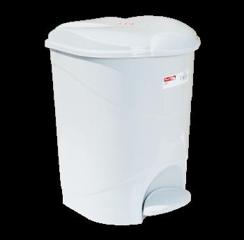 Відро для сміття з педаллю Irak Plastik Bella №2 19л сіре