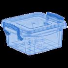 Контейнер на защелках 0,36 л синий