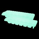 Форма для льда Premium 2 шт бирюзовая Irak Plastik