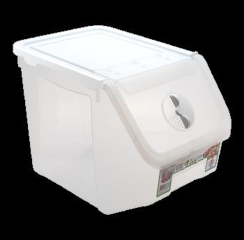 Контейнер 14 л для хранения пищевых продуктов белый