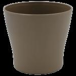 Горшок для цветов Gardenya 2,7 л серо-коричневый