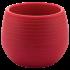 Горщик для квітів Colorful 0,55 л червоний
