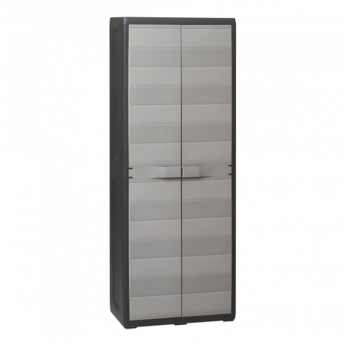 Шафа 2-дверна Elegance S Toomax чорна сіра