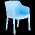 Кресло Tilia Octa светло-синее