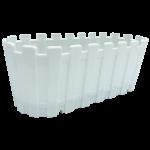 Горщик для квітів балконний Akasya 5,5 л білий