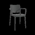 Кресло Papatya Joy-K антрацит