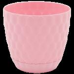 Горщик для квітів Pinecone 3 л рожевий