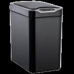 Сенсорное мусорное ведро JAH 12 л прямоугольное черное