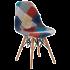 Стул Tilia Eos-V сиденье с тканью, ножки буковые PATCHWORK