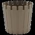 Горщик для квітів Akasya 3,5 л сіро-коричневий