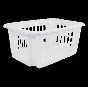 Корзина 10л белый флок