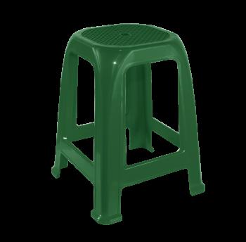Табурет пластиковый Пиф зеленый