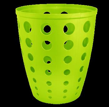 Корзина для бумаг Евро 13,5 л оливковая, офисная корзина для мусора