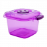 Бокс пищевой 0,5 л мини фиолетовый