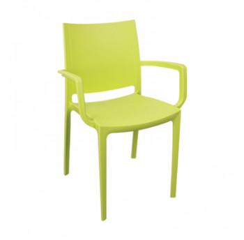 Крісло Irak Plastik Lara оливковий