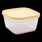 Контейнер пищевой 0,3 л прозрачно-желтый
