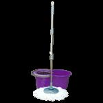 Набор для уборки Planet Spin Mop Mini 14 л пурпурный
