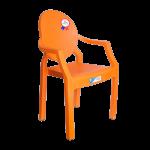 Кресло детское Irak Plastik Afacan оранжевое